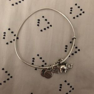 Alex & Ani elephant ii bangle bracelet